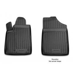 Guminiai kilimėliai FORD Tourneo Custom (1+2 vietų) nuo 2013 (pakeltais kraštais)