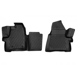 Guminiai kilimėliai FORD Tourneo Custom (1+1 vietų) nuo 2013 (pakeltais kraštais)