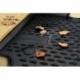 Guminiai kilimėliai VOLKSWAGEN Passat B6 2005-2010 (pakeltais kraštais, Su apvaliais fiksatoriais)