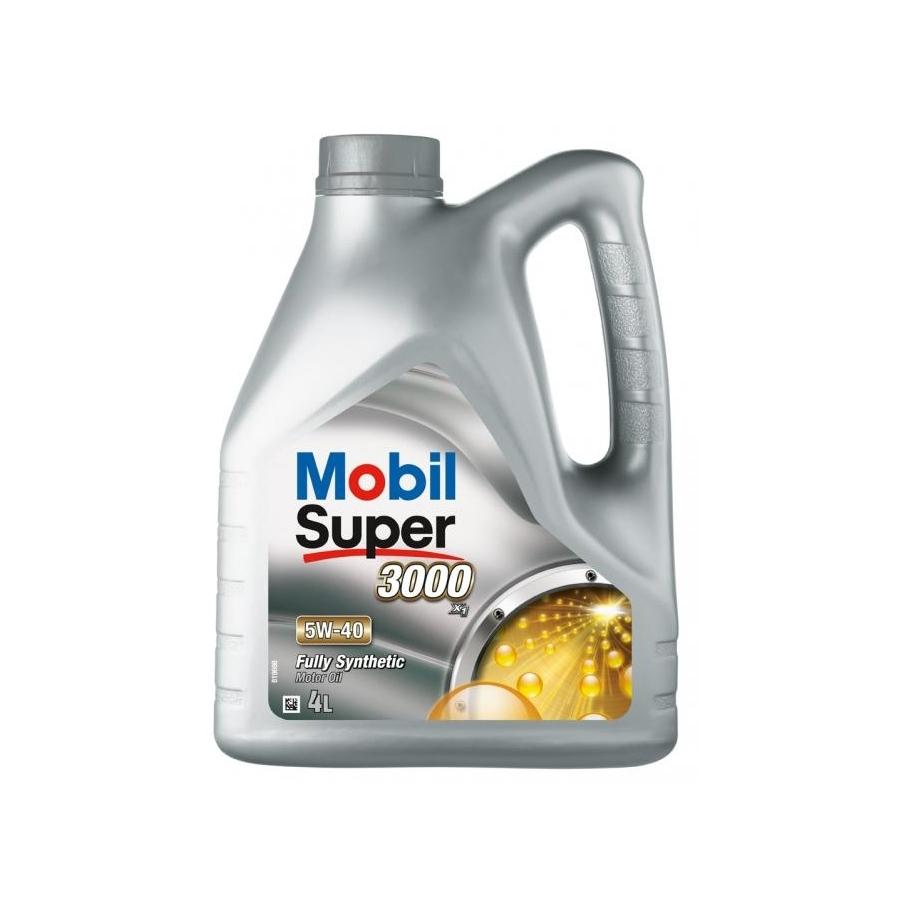 Tepalas MOBIL Super 3000 X1 5W-40, 4L