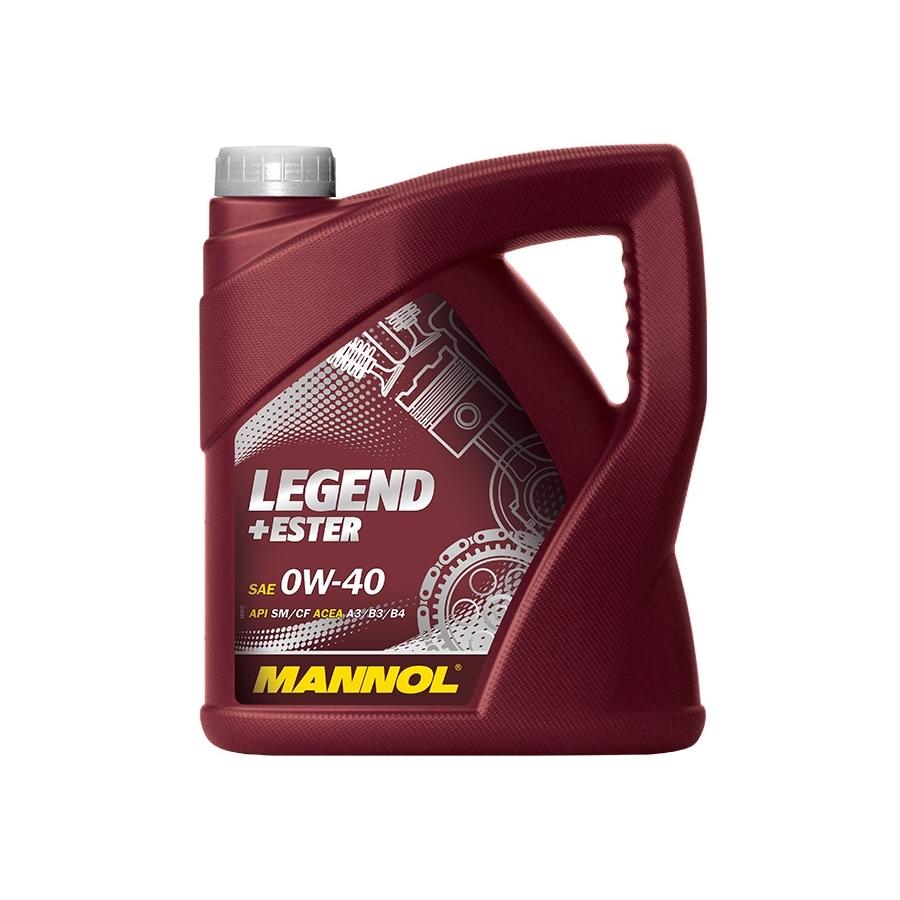 Tepalas MANNOL LEGEND + ESTER 0W-40, 4L