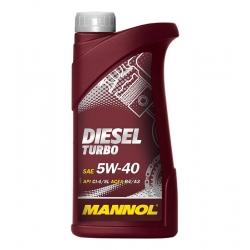 Tepalas MANNOL DIESEL TURBO 5W-40, 1L