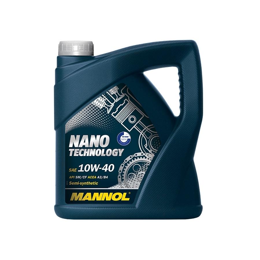 Tepalas MANNOL NANO TECHNOLOGY 10W-40, 4L