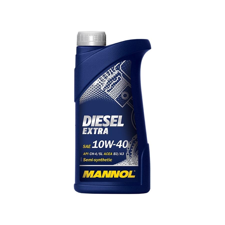 Tepalas MANNOL DIESEL EXTRA 10W-40, 1L