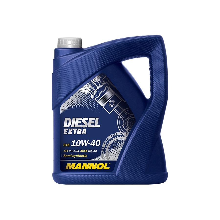 Tepalas MANNOL DIESEL EXTRA 10W-40, 5L