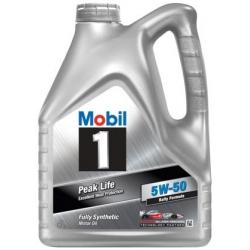 Tepalas MOBIL 1 Peak Life 5W-50, 4L