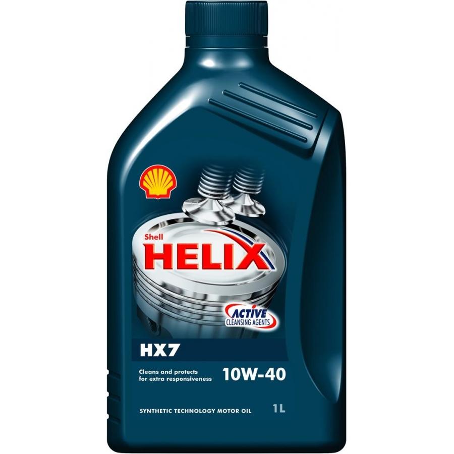Tepalas SHELL HELIX HX7 10W-40, 1L