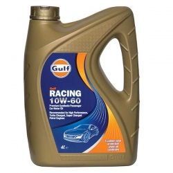 Tepalas GULF RACING 10W-60, 4L