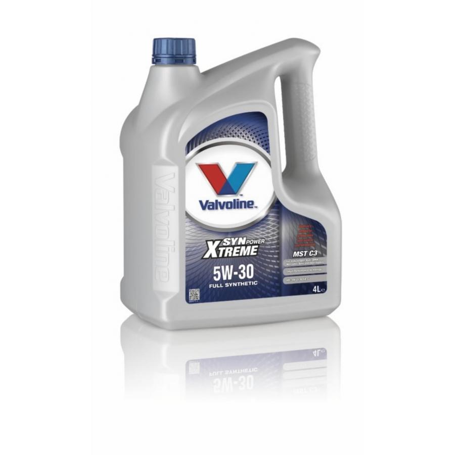 Tepalas VALVOLINE SYNPOWER XTREME MST C3 5W30, 4L