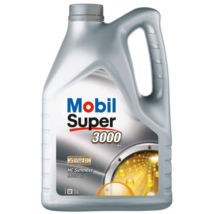 Tepalas MOBIL Super 3000 X1 5W-40, 5L