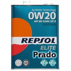 Tepalas REPSOL ELITE PRADO 0W20, 4L
