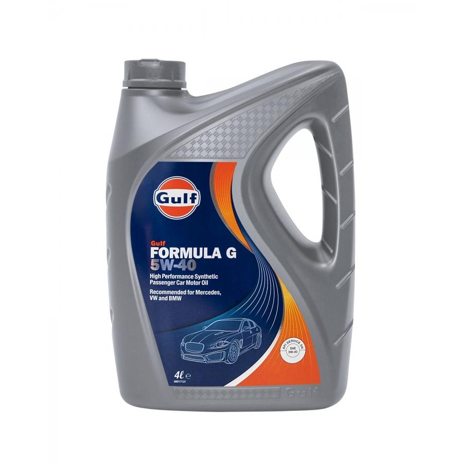 Tepalas GULF FORMULA G 5W40, 4L