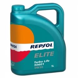 Tepalas REPSOL ELITE TURBO LIFE 50601 0W30, 5L