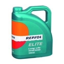 Tepalas REPSOL ELITE LONG LIFE 50700/50400 5W30, 4L