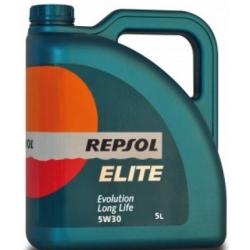 Tepalas REPSOL ELITE EVOLUTION LONG LIFE 5W30, 5L