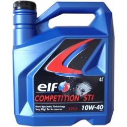 Tepalas ELF COMPETITION STI 10W-40, 4L
