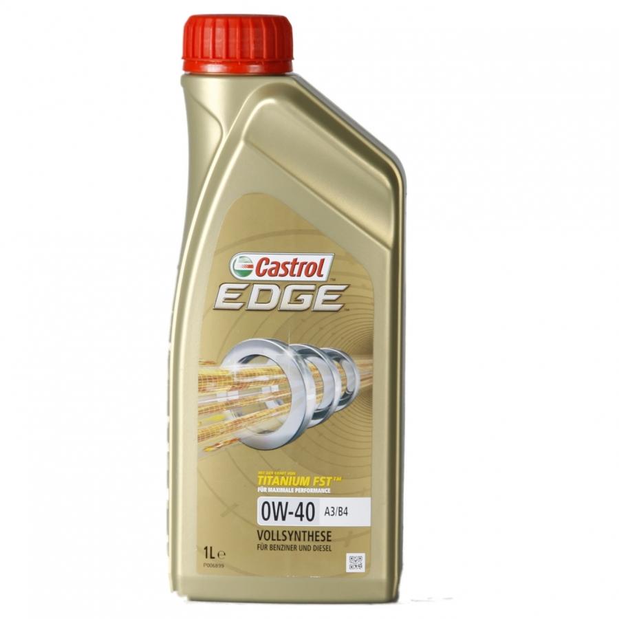 Tepalas CASTROL EDGE TITANIUM FST 0W-40, 1L