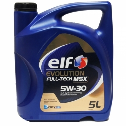 Tepalas ELF EVOLUTION FULL-TECH MSX 5W-30, 5L