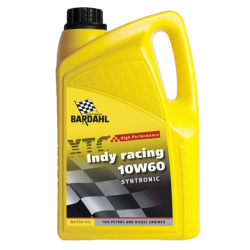 Tepalas BARDAHL XTC INDY RACING 10W60 SYNTRONIC, 5L
