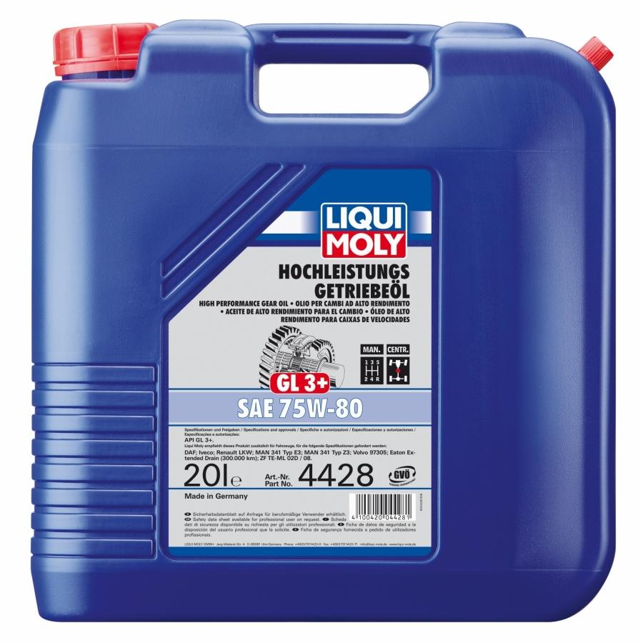 Tepalas LIQUI MOLY GL3+ SAE 75W-80, 20L