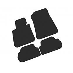 Tekstiliniai kilimėliai BMW 1 E88 Cabrio 2007-2013