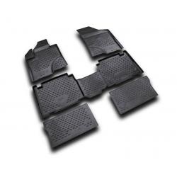 Guminiai kilimėliai HYUNDAI ix55 2007-2012 (pakeltais kraštais)