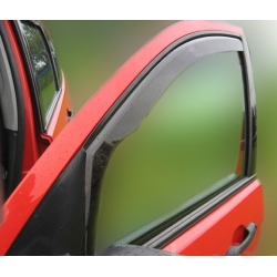 Vėjo deflektoriai AUDI A6 (C6) 4/5 durų 2004-2011 (Priekinėms durims)