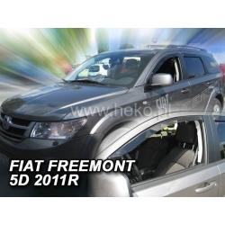 Vėjo deflektoriai FIAT FREEMONT 5 durų 2011→ (Priekinėms durims)