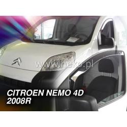 Vėjo deflektoriai CITROEN NEMO 4/5 durų 2008→ (Priekinėms durims)