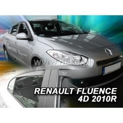 Vėjo deflektoriai RENAULT FLUENCE 4 durų 2010→ (Priekinėms ir galinėms durims)
