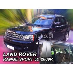 Vėjo deflektoriai LAND ROVER RANGE ROVER SPORT 5 durų 2005-2012 (Priekinėms ir galinėms durims)