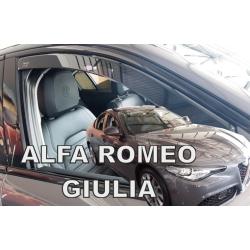 Vėjo deflektoriai ALFA ROMEO GIULIA 2016→ (Priekinėms durims)