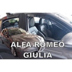 Vėjo deflektoriai ALFA ROMEO GIULIA 5 durų 2016→ (Priekinėms ir galinėms durims)