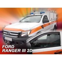 Vėjo deflektoriai FORD RANGER 2 durų 2012→ (Priekinėms durims)