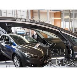 Vėjo deflektoriai FORD S-MAX II 5 durų 2016→ (Priekinėms durims)