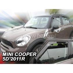 Vėjo deflektoriai MINI COOPER (R60) 5 durų 2011→ (Priekinėms durims)