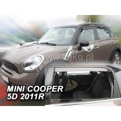 Vėjo deflektoriai MINI COOPER (R60) 5 durų 2011→ (Priekinėms ir galinėms durims)