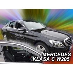 Vėjo deflektoriai MERCEDES BENZ C klasė W205 Sedan 4 durų 2014→ (Priekinėms durims)