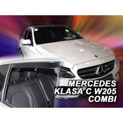 Vėjo deflektoriai MERCEDES BENZ C klasė W205 Combi 5 durų 2014→ (Priekinėms ir galinėms durims)