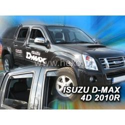 Vėjo deflektoriai ISUZU D-MAX 4 durų 2006-2012 (Priekinėms ir galinėms durims)