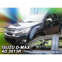 Vėjo deflektoriai ISUZU D-MAX II 2/4 durų 2012→ (Priekinėms durims)
