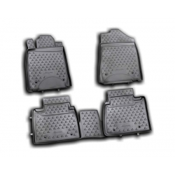 Guminiai kilimėliai LEXUS ES350 2010-2012 (pakeltais kraštais)