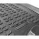 Guminis bagažinės kilimėlis CITROEN C3 su standartiniu atsarginiu ratu 2009-2016