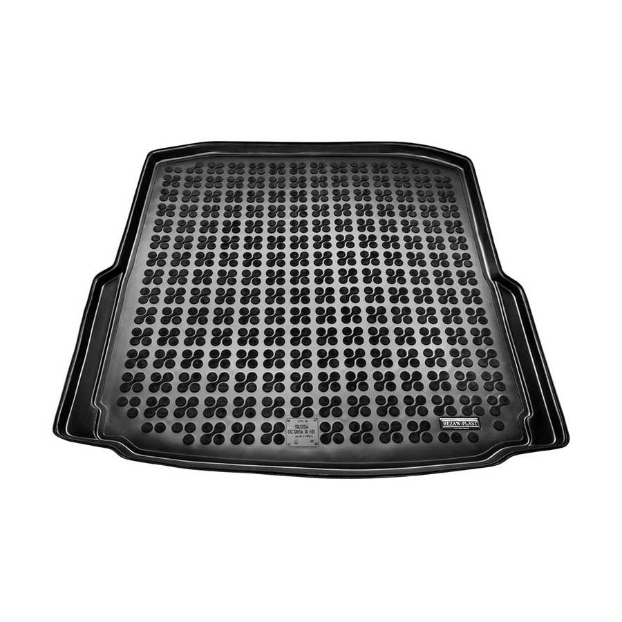 Guminis bagažinės kilimėlis SKODA OCTAVIA III Hatchback 2013→