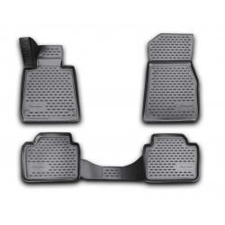 Guminiai kilimėliai BMW 3 (F30) nuo 2012 (pakeltais kraštais)