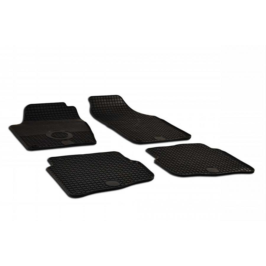 Guminiai kilimėliai Volkswagen Polo 2001-2009 (su originaliais tvirtinimais, juodos spalvos)