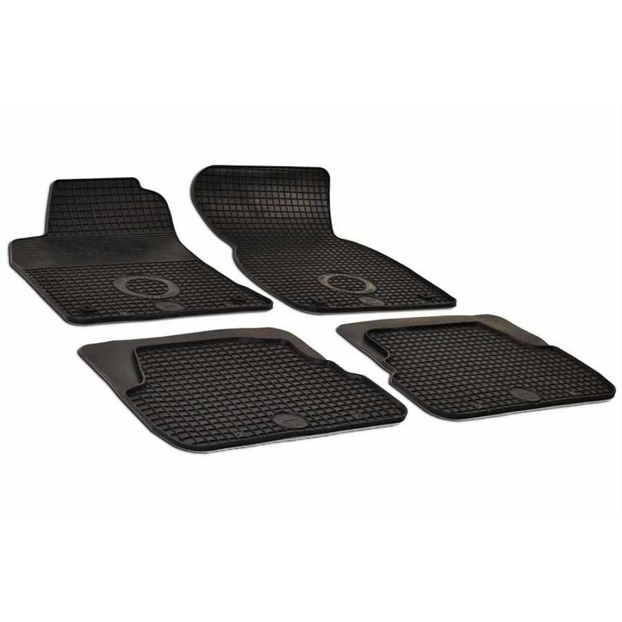 Guminiai kilimėliai AUDI A6 1997-2004 (su originaliais tvirtinimais, juodos spalvos)
