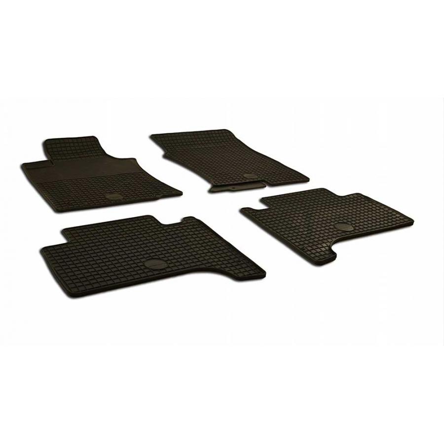 Guminiai kilimėliai TOYOTA Land Cruiser 120 Prado 2002-2009 (juodos spalvos)