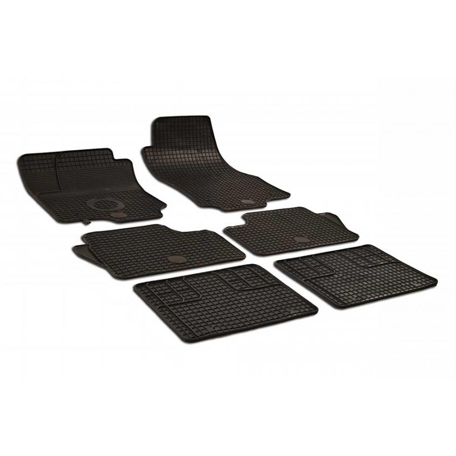 Guminiai kilimėliai Opel Zafira B 2005-2011 (juodos spalvos)