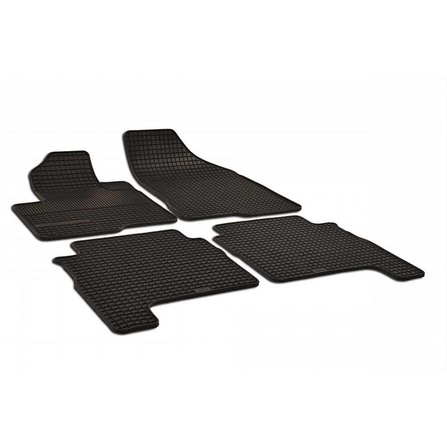 Guminiai kilimėliai Hyundai Santa FE 2006-2012 (juodos spalvos)